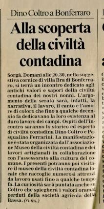 Settembre 1999 su L'Arena