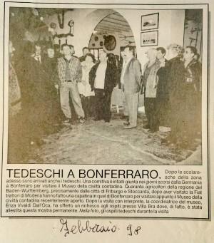 Febbraio 1998 su L'Arena