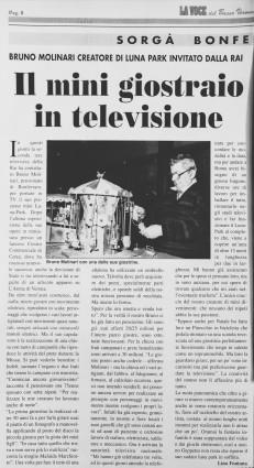 Marzo 1998 su La Voce del Basso Veronese